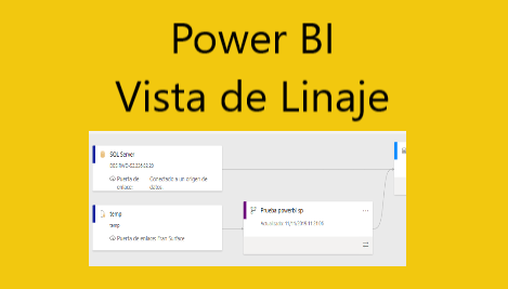 Vista de Linaje en el servicio de Power BI (vista preliminar)