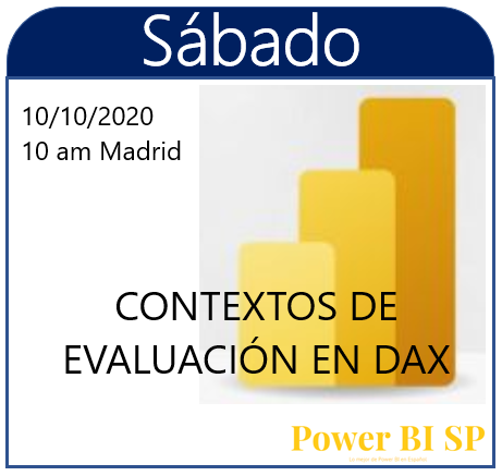 Sábados de Power BI (I). Contextos de evaluación en DAX